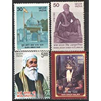 India 1979 - 2013 Sikh Leaders & Shrines Theme ( Set of 4 Stamps ) Mint Unhinged