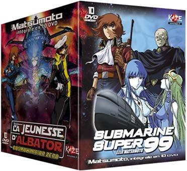 Matsumoto : La jeunesse d'Albator et Submarine Super 99 - Intégrale 10 DVD