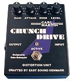 Carl Martin Pedal Crunch Overdrive mit Batterie (9 Volt)