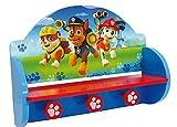 Fun House 712601Pat Patrouille - estantería y Perchero (Madera MDF, Azul, 46x 33x 15cm)