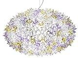Kartell Bloom S2 Lampada a Sospensione, Confezione da 1 Pezzo, Bianco