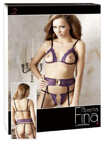 Preisvergleich Produktbild Abierta Fina BH-Set Violett L