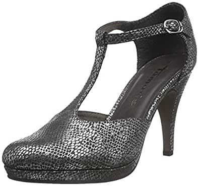 Tamaris 24428, Escarpins Femme - Argent (silver Struct. 943), 36 EU