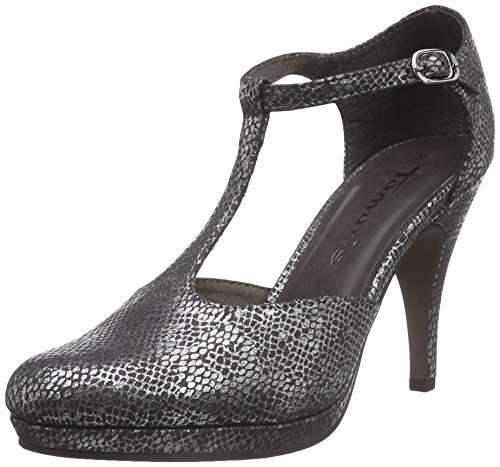 Tamaris 24428, Escarpins Femme Argent (silver Struct. 943)
