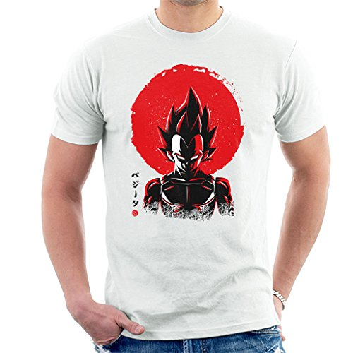 Vegeta Sun Poster Dragon Ball Z Men's T-Shirt
