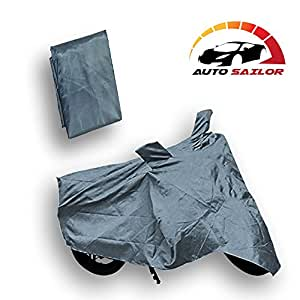 Autosailor Grey Bike Body Cover For Yamaha SZ-R with free Branded keychain