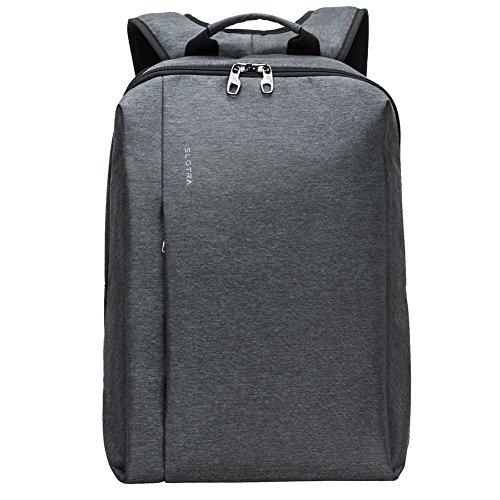 Imagen de slotra  viaje business, impermeable para portátil  con compartimento para portátil y anti thief cremallera oculta, t 31&67 7
