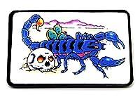 Skorpion & Totenkopf Skull Gedruckt Gürtelschnalle Buckle
