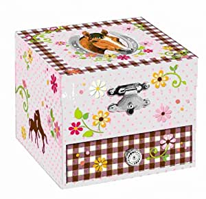Horse Friends Musical Jewellery Box