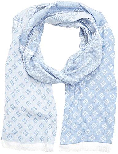 MLT Belts & Accessoires Panama - Echarpe Mixte, Multicolore (bleu 1150) - Taille unique (Taille fabricant: 40x200cm)