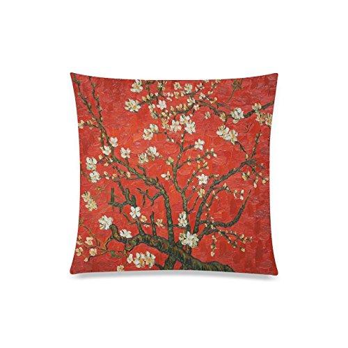 Vincent Van Gogh Gemälde Rechteck Sofa Home dekorativer Überwurf-Kissenbezug Baumwolle Polyester Twin Seite Druck 50,8x 50,8cm Alice Im Wunderland-schlafzimmer-set