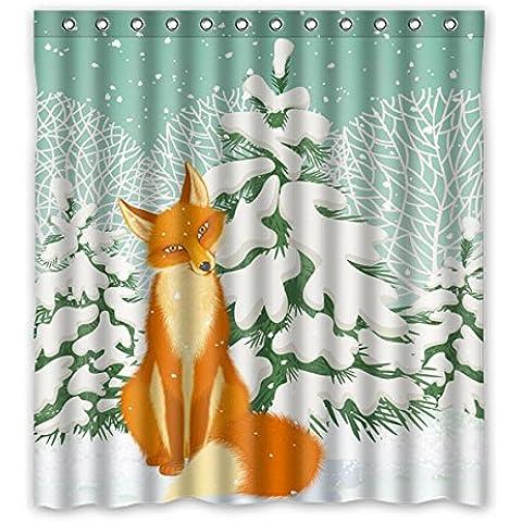 Albero di Natale Natale nevoso coperto di neve, elegante e