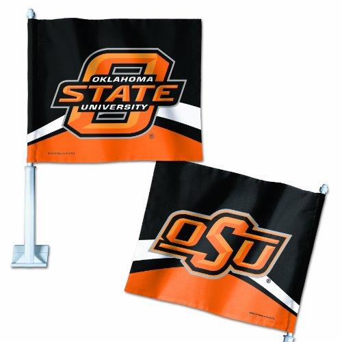 Wincraft NCAA Oklahoma State Cowboys KFZ Flagge (Cowboy Kfz-zubehör)