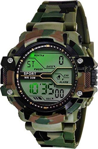 Fadiso Fashion GR Digital Black Dial Sports Men\'s Watch