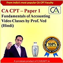 CA CPT Fundamentals of Accounting by Prof. Ved (Hindi)