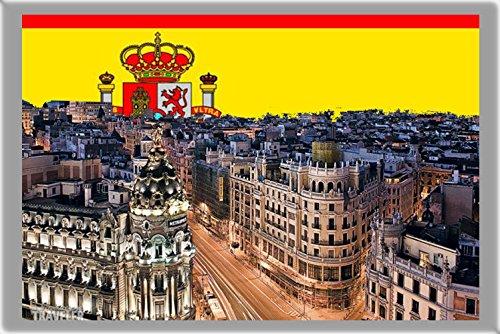 MADRID KÜHLSCHRANKMAGNET, THE CAPITAL CITY OF SPAIN REFRIGERATOR MAGNET (Magnet Madrid)
