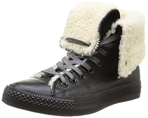 Converse Ctas Knee Hi Damen Sneaker Schwarz (Noir (Noir 8))