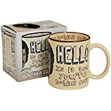 Hello Is It Tea You're Looking For? Gift Boxed Mug. Lionel Richie comedy mug (with free key ring)