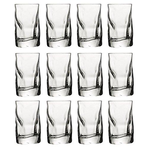 Bormioli Rocco Sorgente Highball-Glas, 12 Bormioli Rocco 7cl Shot Glasses (Highball-glas)