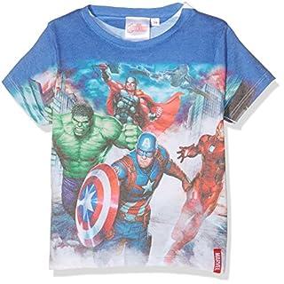 Marvel Jungen T-Shirt AVC-8908, Weiß (Blanc, 9-10 Jahre