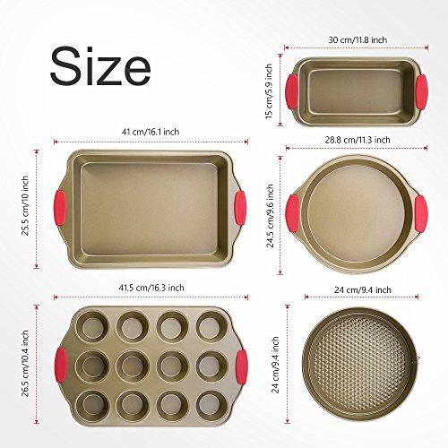 Backform-Set Kitchen Komforts Backformen-Set 5-teilig