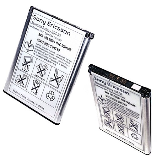 Original Sony Ericsson Akku BST-33 für verschiedene Sony Ericsson Mobiltelefone (Sony P1i)