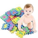 Broadroot 36 Stk./Set Alphabet & Ziffern Baby Kinder Spielmatte Pädagogisches Spielzeug Weiche Matten