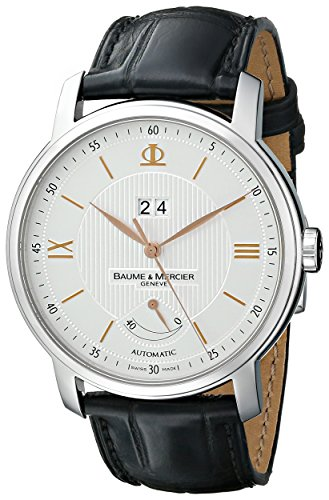 baume-et-mercier-classima-10142-42mm-automatic-stainless-steel-case-black-leather-anti-reflective-sa