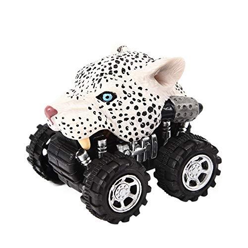 holitie Mini Autotier ziehen Auto zurück und großes Reifen kreatives Geschenk für Kinder (Verschiedene Modelle)