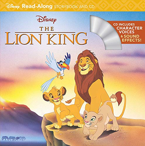 The Lion King Read-Along Storybook [With CD (Audio)] (Read-Along Storybook and CD)