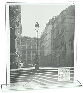Sixtrees Deco en verre 20cm par 25,4cm Cadre Photo Vertical