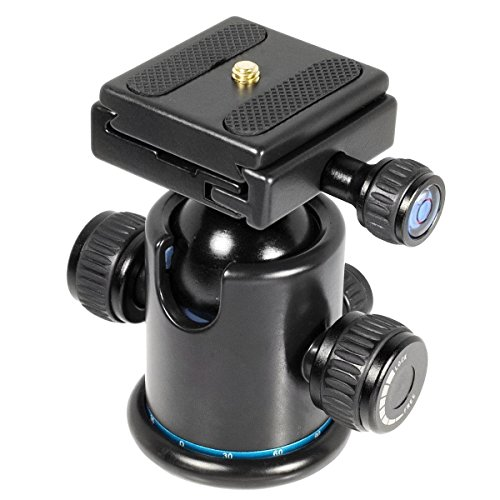 deyard-d101-pro-all-metal-camera-tripod-ball-head-with-quick-release-plate-for-canon-5d-series-black