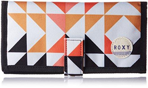 Roxy Wallet erjaa Tropical Drift, Donna, Wallet Erjaa Tropical Drift, Small Cozy Geo Print Combo Nas, Taglia unica