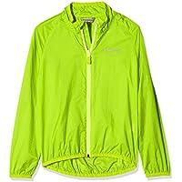 Ziener Niños cluft Jun (Wind JKT) Chaqueta, verano, infantil, color verde lima, tamaño 128