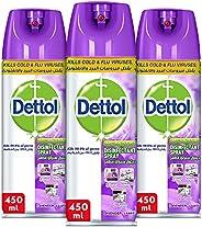 Dettol Lavender Disinfectant Spray - Pack of 3
