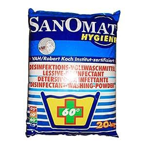 Sanomat Desinfektionswaschmittel - phosphatfrei - 20 kg - 1 Sack