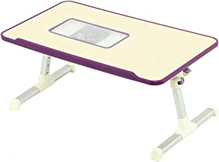 VDNSI Foldable Adjustable Laptop/Reading/Eating/Study Table with Cooling Fan