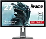 iiyama G-MASTER Red Eagle GB2788HS-B2 68,6cm (27 Zoll) LED-Monitor Full-HD (144Hz, DVI-D, HDMI, DisplayPort, 1ms Reaktionszeit, FreeSync, Höhenverstellbar) schwarz