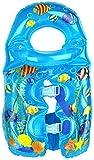 Best Aqua Leisure Baby Pools - Aqua Leisure ET9070 Inflatable Fishy Swim vest, detachable Review