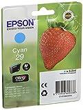 Epson 29 Claria Home Strawberry Cartouche d'encre d'origine Cyan