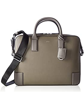 HUGO Herren Digital_s Doc 10188035 01 Business Tasche, Grau (Medium Grey), 7 x 29 x 39.5 cm