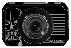 Lexibook-DJA500SW Star Wars Cámara De Movimiento Y Sumergible, Color Negro (DJA500SW)