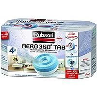 Rubson Aero 360 - Lote de recargas para absorbedor de humedad (4 unidades)