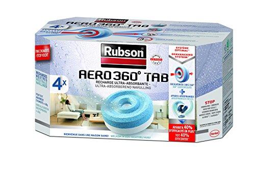 Rubson Aero 360 - Lote recargas absorbedor humedad