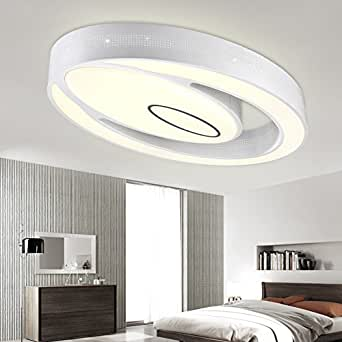 WEIAN Licht für das Wohnzimmer, Schlafzimmer moderne Kristall Deckenleuchte-Kristall einfach und ...