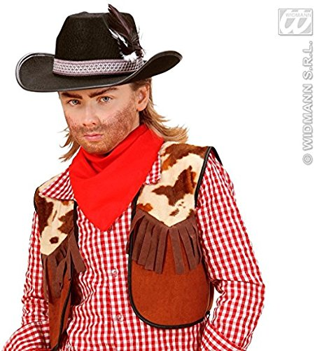 librolandia-2476e-cappelli-cowboy-con-piume-bambino-neri-feltro