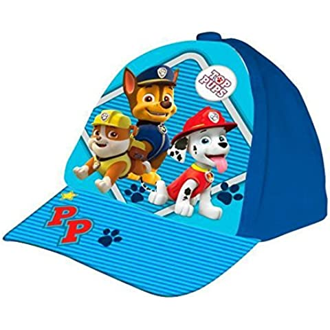 Set GORRA PAW Patrol (PATRULLA CANINA) azul 3X PERSONAJES y PACK CALCETINES MARCA TIENDADELEGGINGS TOBILLEROS ANTI-PRESION