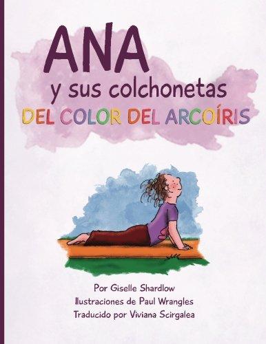 Ana y sus colchonetas del color del arcoíris