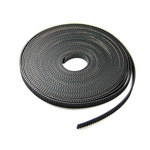 Hictop 5metres Gt22mm Pitch 6mm de large Courroie crantée pour imprimante 3d CNC