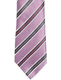 Alvaro Castagnino Purple::Black Colored Necktie for Men